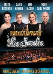 From Broadway To La Scala | DVD