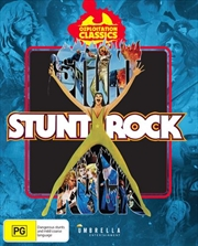 Stunt Rock | Ozploitation Classic + Comic | Blu-ray