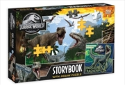 Jurassic World - Storybook With Puzzle | Merchandise