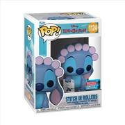 Lilo & Stitch - Stitch in Rollers w/drawing Pop! Vinyl | Pop Vinyl