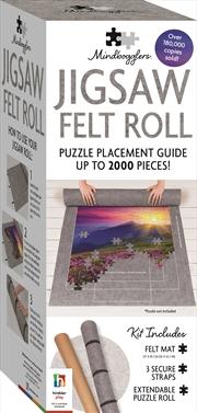 Mindbogglers Jigsaw Felt Roll | Merchandise