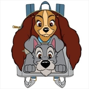 Loungefly - Lady And The Tramp Mini Backpack | Apparel