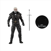 "The Witcher (TV) - Geralt Battle 7"" Premium Action Figure | Merchandise"