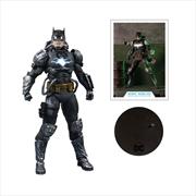 "Batman - Batman Hazmat Light Up Gold 7"" Action Figure | Merchandise"