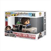 Ghostbusters: Afterlife - Ecto-1 with Trevor Pop! Ride | Pop Vinyl