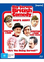Big Screen British Comedy | Imprint Collections 78, 79, 80, 81 | Blu-ray