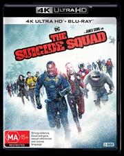 Suicide Squad | Blu-ray + UHD, The | UHD