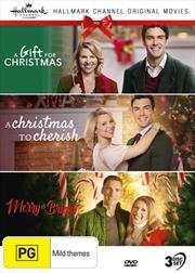 Hallmark Christmas - A Gift For Christmas /  A Christmas To Cherish / Merry and Bright - Collection | DVD