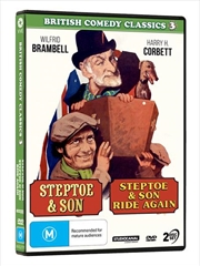 British Comedy Classics - Steptoe and Son / Steptoe And Son Ride Again - Vol 3 | DVD