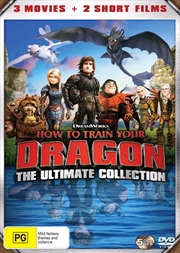 How To Train Your Dragon / How To Train Your Dragon 2 / Hidden World / Night Fury / Homecoming | Ult | DVD