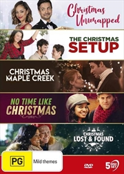 Christmas At Maple Creek / No Time Like Christmas / Christmas Unwrapped / Christmas Lost And Found / | DVD