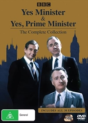 Yes, Minister / Yes, Prime Minister | Complete Collection | DVD