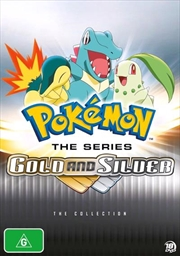 Pokemon The Series - Gold And Silver   Collection   DVD