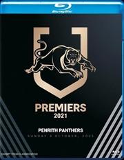 NRL - Premiers 2021 - Penrith Panthers | Blu-ray