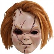 Child's Play 6: Curse of Chucky - Chucky Scarred Plastic Maskw/Hair | Apparel