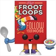 Kelloggs - Froot Loops Cereal Box Pop! Vinyl | Pop Vinyl