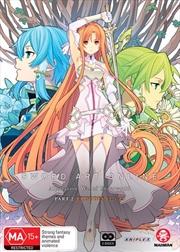 Sword Art Online Alicization - War Of Underworld - Part 2 - Eps 12.5-23   DVD