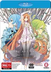 Sword Art Online Alicization - War Of Underworld - Part 2 - Eps 12.5-23   Blu-ray