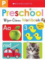 Preschool Wipe Clean Workbook   Spiral Bound