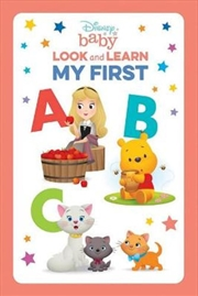 Look And Learn: My First Abc   Paperback Book