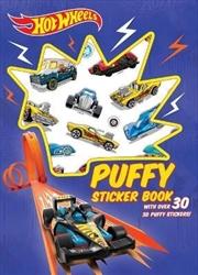 Hot Wheels: Puffy Sticker Book | Paperback Book