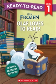 Frozen - Olaf Loves to Read! - Ready-to-Read Level 1 | Paperback Book