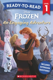Frozen An Engaging Adventure - Ready-to-Read Level 1 | Paperback Book