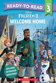 Frozen 2: Welcome Home Level 3 | Paperback Book