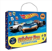 Hot Wheels: Sticker Fun Activity Case (Mattel) | Books