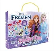 Frozen: Sticker Fun Activity Case (Disney)   Books