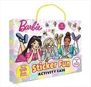 Barbie: Sticker Fun Activity Case (Mattel)   Books