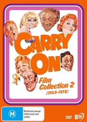 Carry On - Film Collection 2 | 1969 - 1978 | DVD