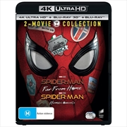 Spiderman - Far From Home/Homecoming - 2 Movie Collection | UHD
