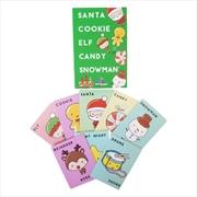 Santa Cookie Elf Candy Snowman | Merchandise
