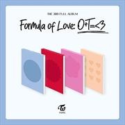 Formula Of Love O+T = <3 - 3rd Full Album   CD