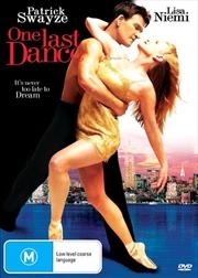 One Last Dance | DVD