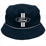 Ford Oval Logo Bucket Hat   Apparel