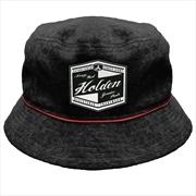 Holden Genuine Parts Heritage Logo Bucket Hat Cap   Apparel