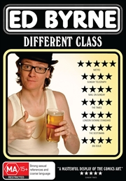 Ed Byrne: Different Class | DVD