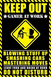 Gamer At Work Poster | Merchandise