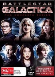 Battlestar Galactica: Season 1 - 4 Boxset + The Plan | DVD