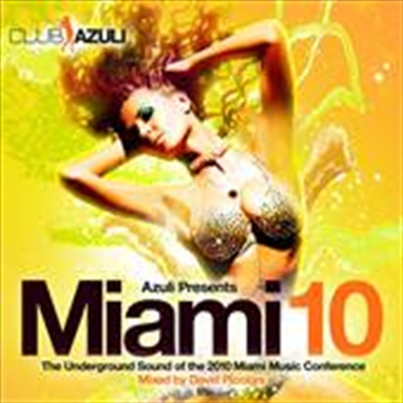 Azuli Presents Miami 2010   CD