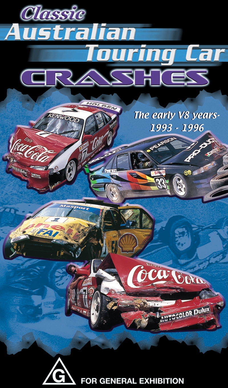 Classic Australian Touring Car Crashes | DVD
