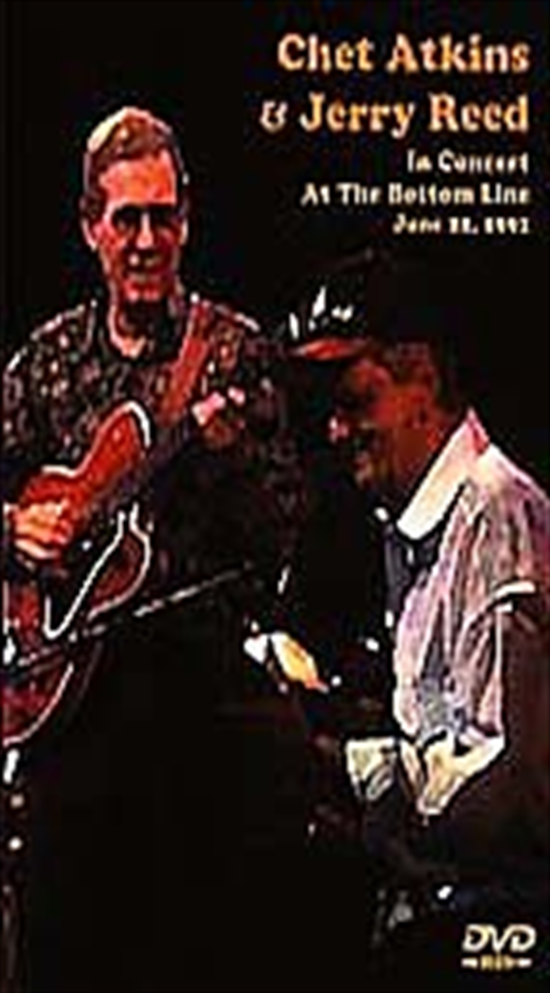 With Jerry Reed - In Concert At The Bottom Line | DVD