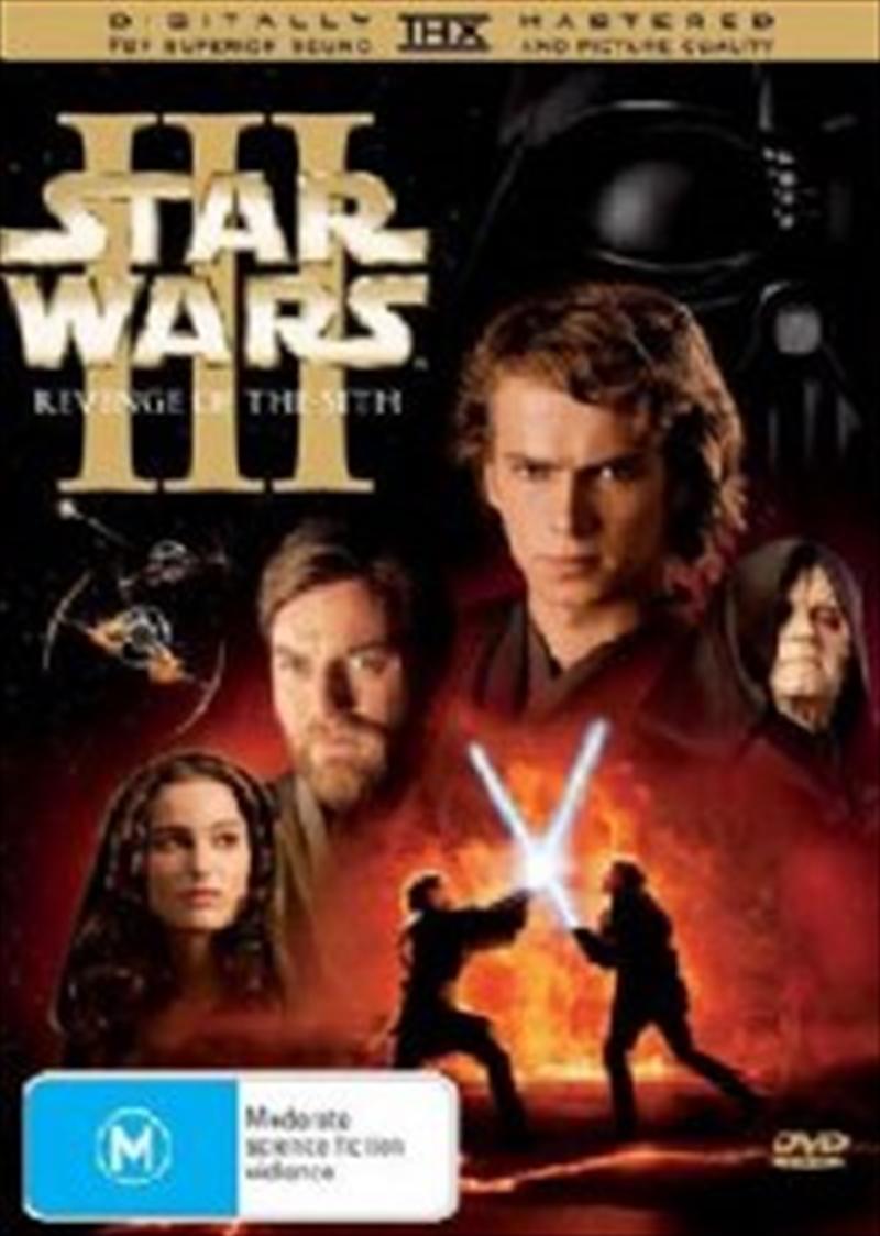 Star Wars Episode Iii Revenge Of The Sith Sci Fi Dvd Sanity