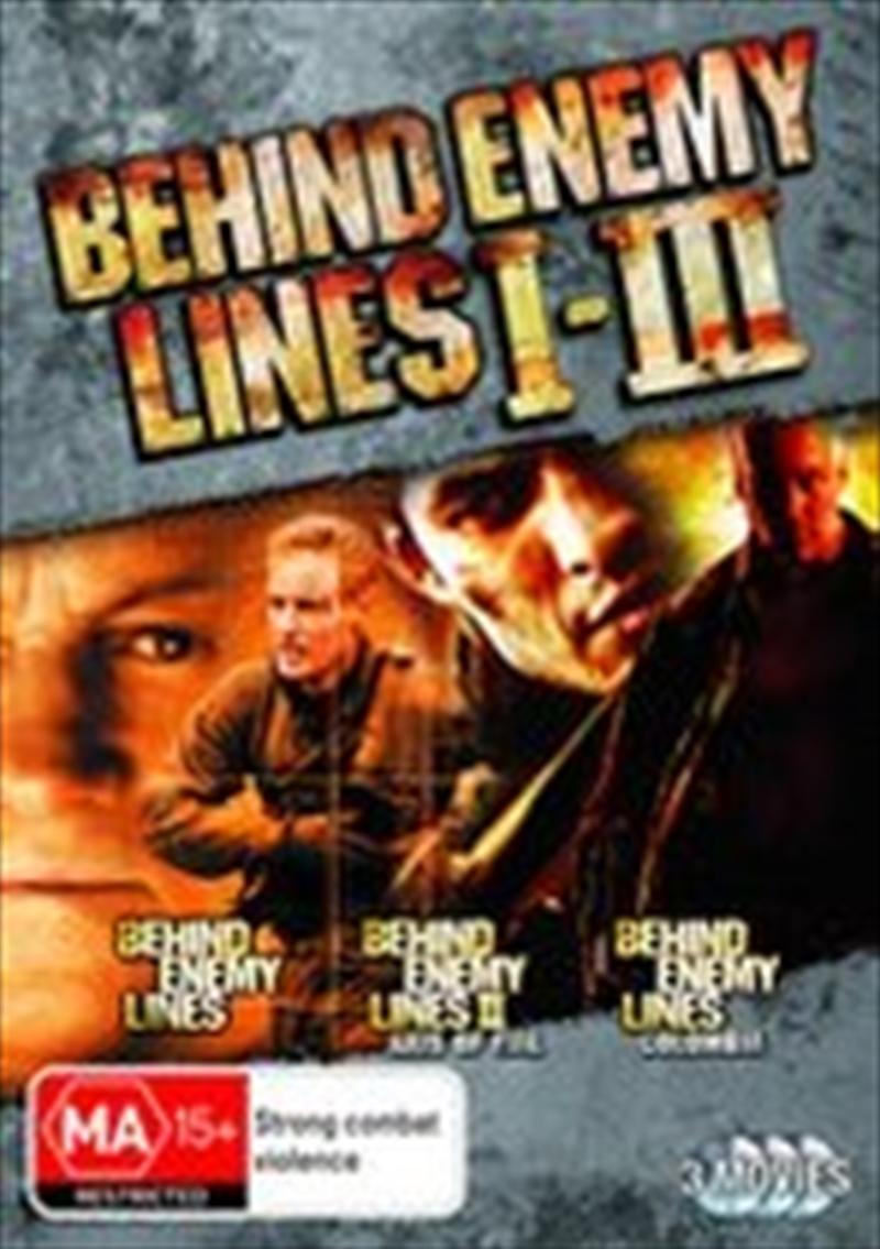 Behind Enemy Lines 1-3 | DVD