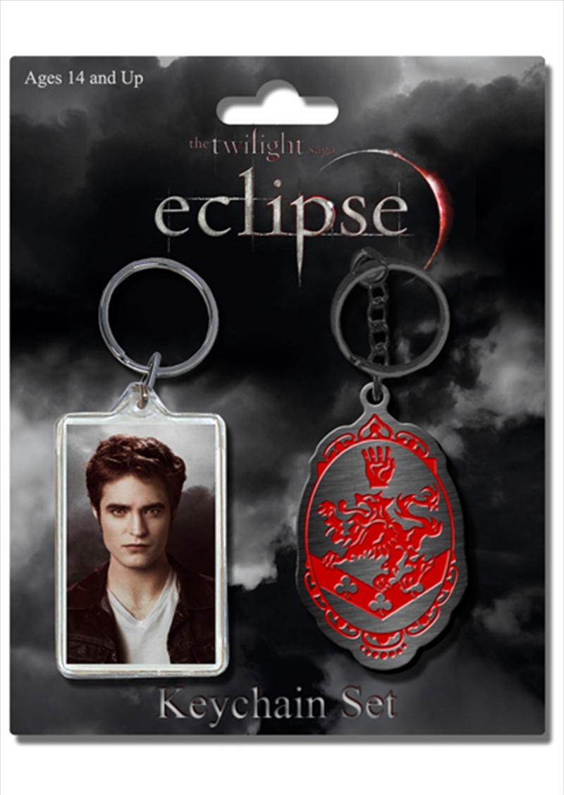 Edward & Crest Keychain 2pk | Accessories