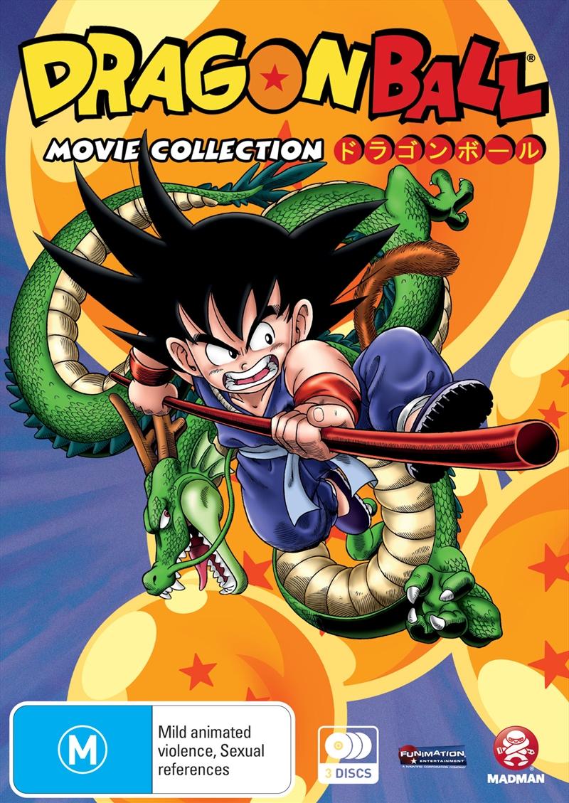 Dragon Ball Movie Collection   DVD