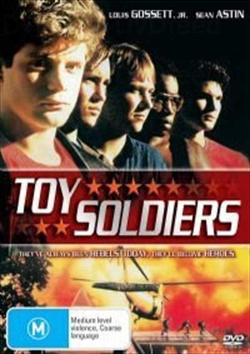 Toy Soldiers Action Dvd Sanity