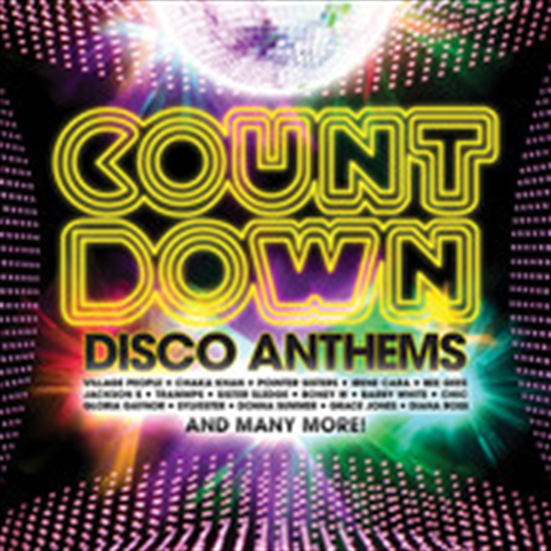 Countdown Disco Anthems